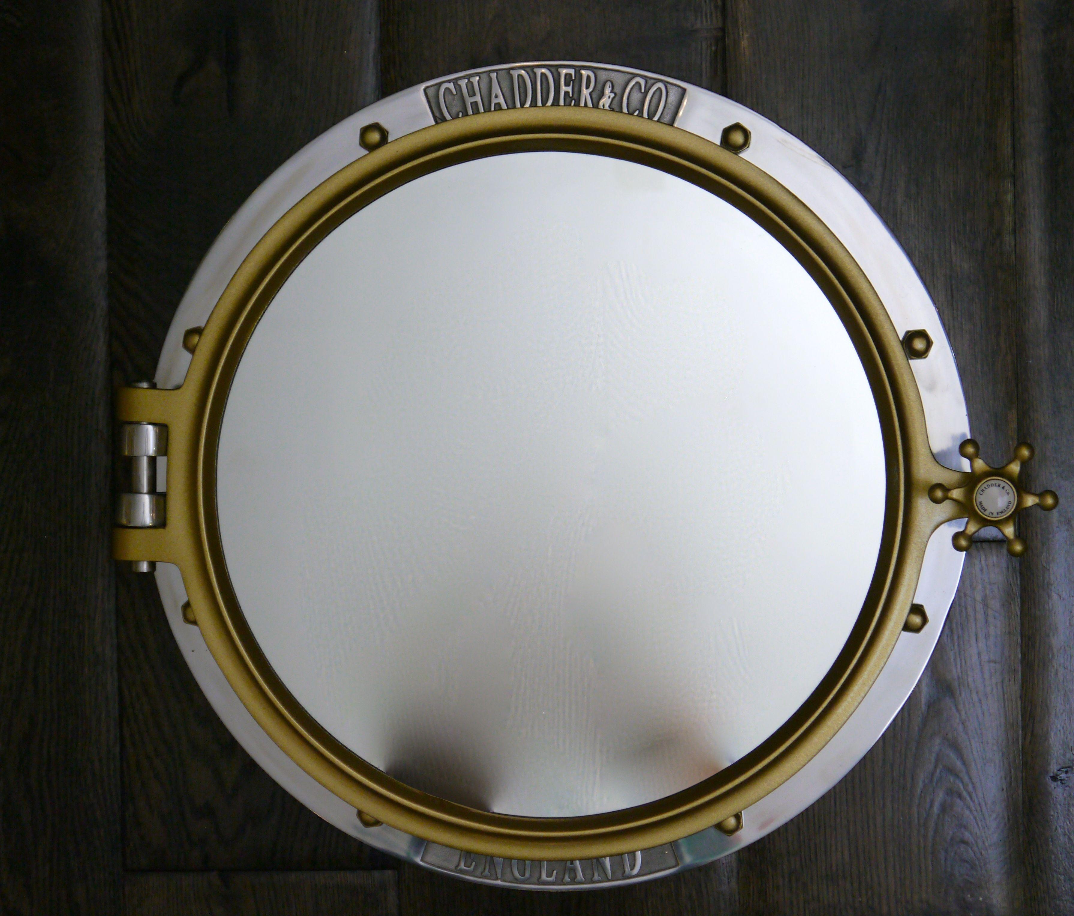 Chadder Porthole. Porthole Mirror Cabinet. Unique mirror Bespoked ...