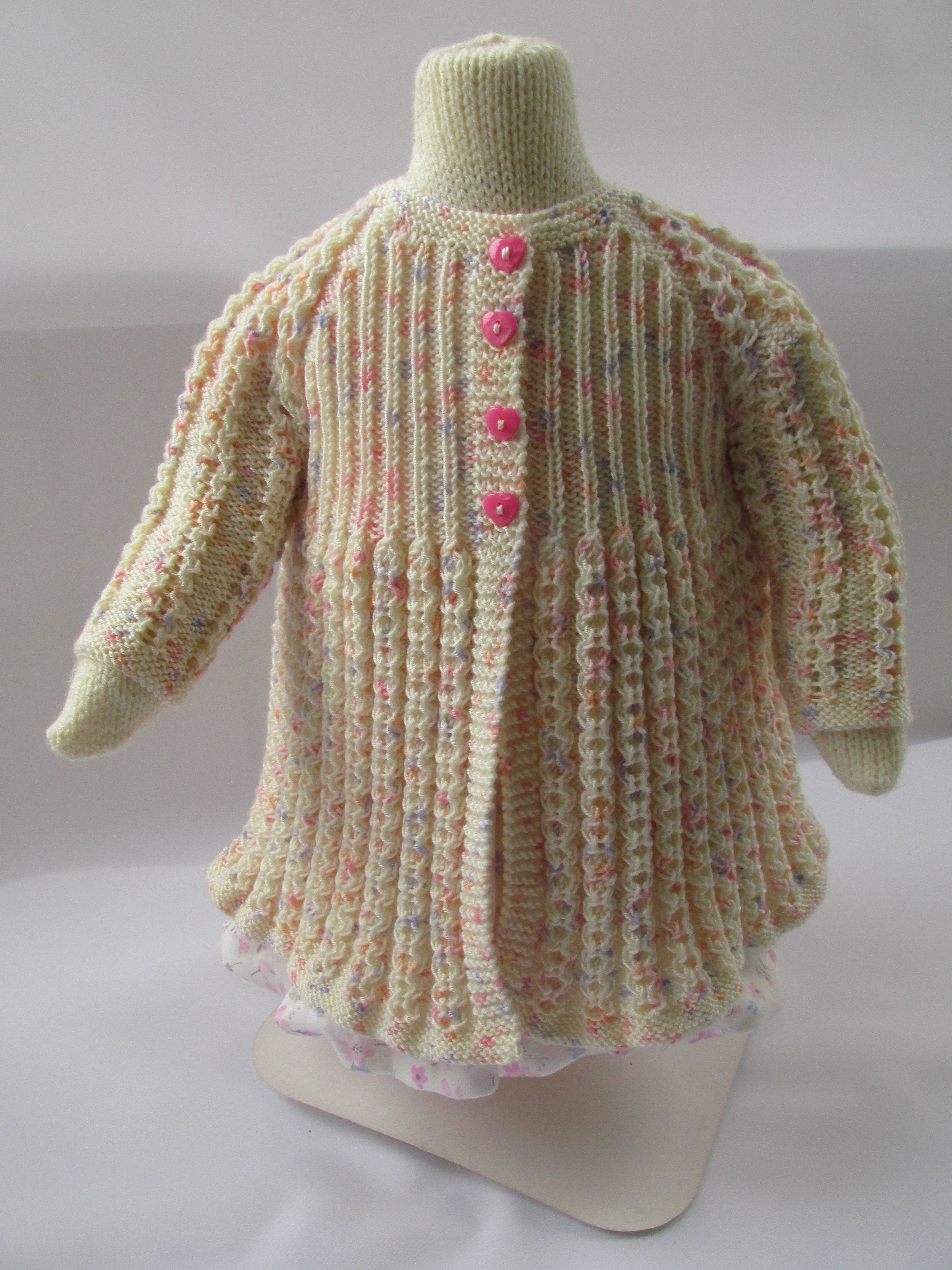 6c64b49bc Knitting pattern for a vintage inspired