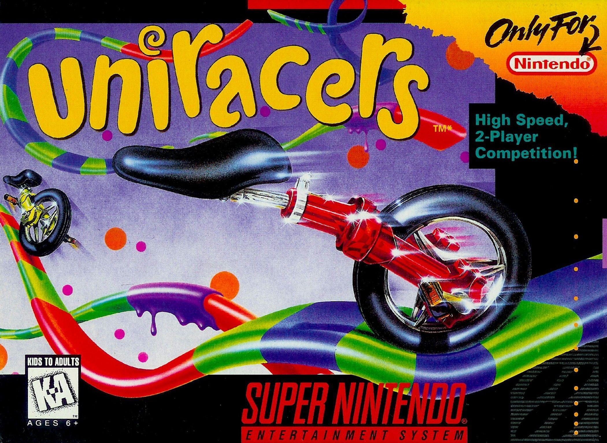Uniracers Snes Super Nintendo With Images Super Nintendo