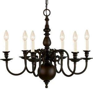 Stalton 6 Light Chandelier - Oil Rubbed Bronze