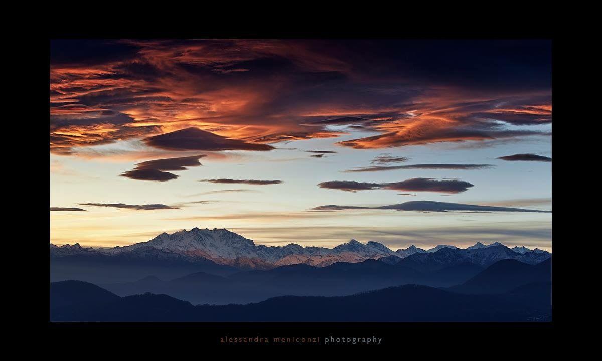 Vista delle Alpi bernesi e del monte rosa dal Monte Bre (Switzerland) Photo by www.alessandrameniconzi.com