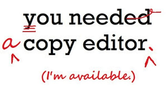 Need a copy editor? Copy Editing Services Pinterest - Copy Editor Resume