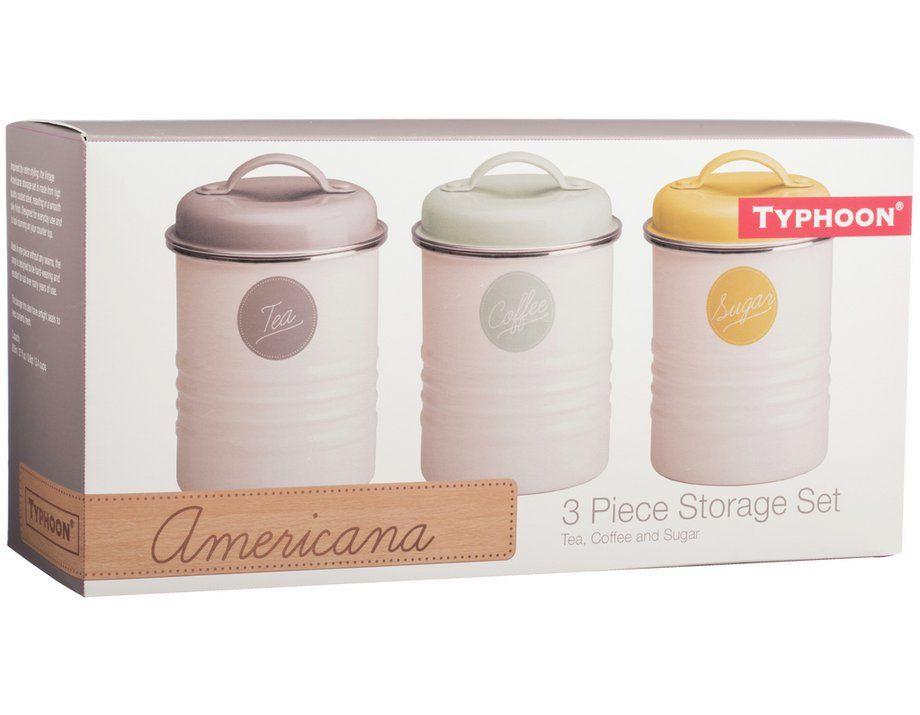 Buy Typhoon Vintage Americana Tea Coffee And Sugar Set At Argos