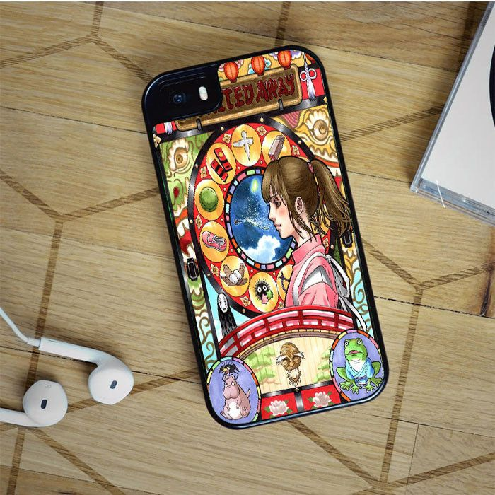spirited away nouveau art cover iPhone 5 6 Plus Samsung Galaxy S5 S6 Edge Note 3 4 HTC Case