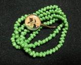 beads bracelet☆ vintage parts