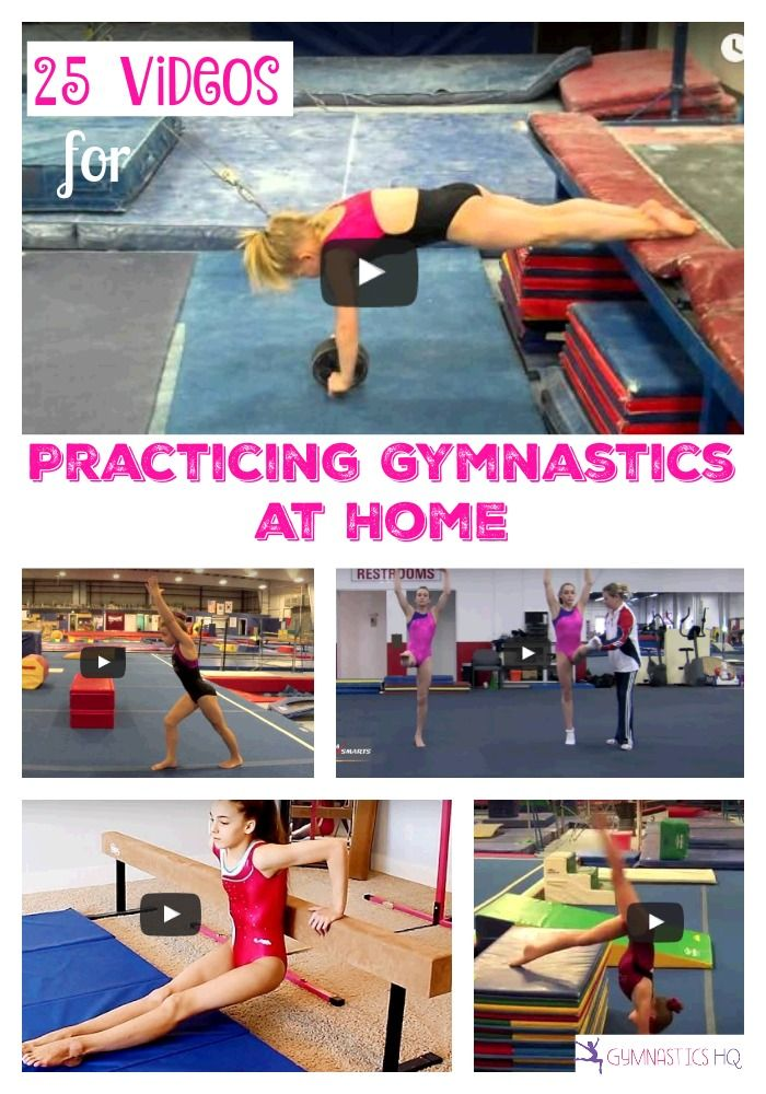 25 Videos for Practicing Gymnastics at Home | Gymnastics at home, Gymnastics  workout, Gymnastics skills