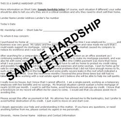 A Loan Modification Hardship Letter Will Paint A