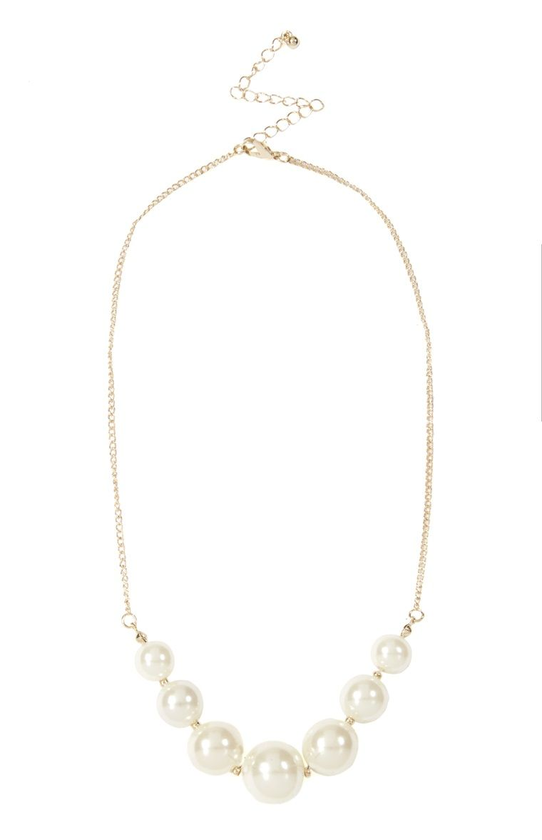 88e5fb667be36 Primark - Pearl Necklace £1.50 | My Style Accessories | Pearl ...
