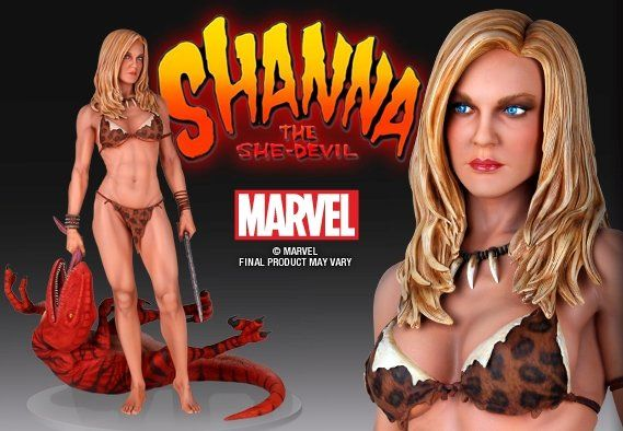 Marvel Statue 1/4 Shanna the She-Devil - The Movie Store
