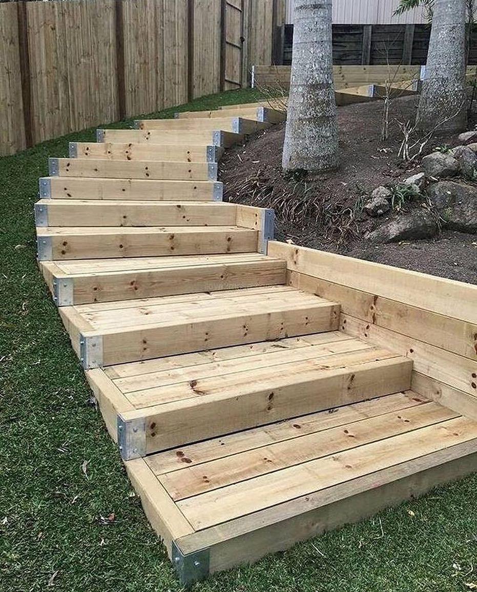 26+ Backyard steps ideas info