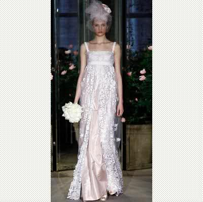 wedding gowns dresses with a hint of color