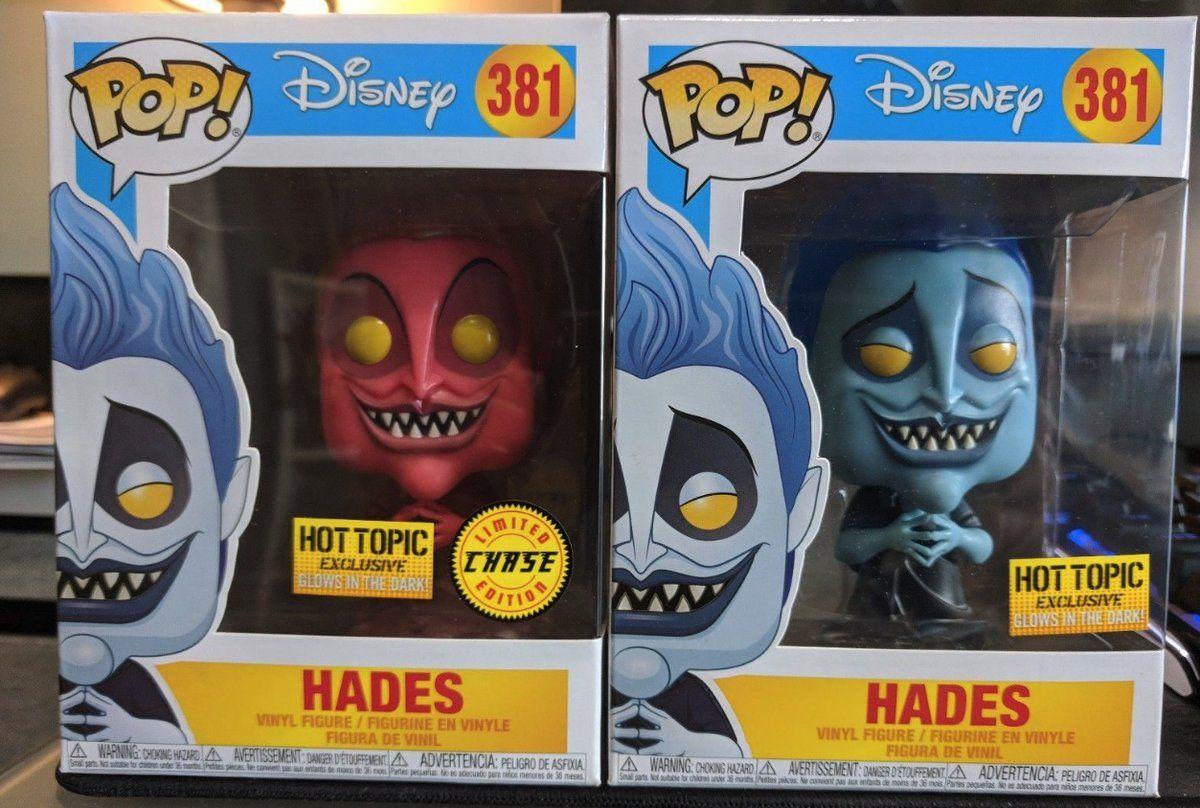 Vinyl *In Stock* Glow in the Dark #381 Funko Pop Disney Hercules Hades
