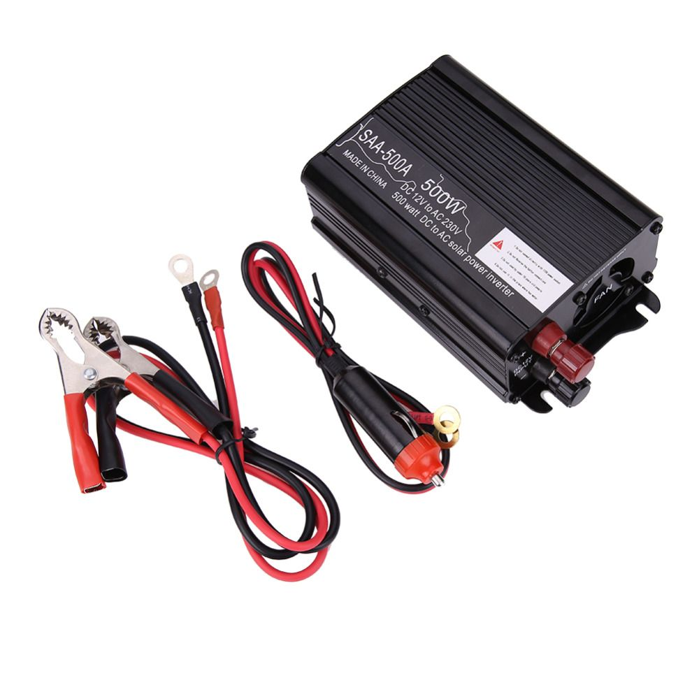 Solar power inverter dc to ac modified conventer car solar inverter power inverter car charger high quality