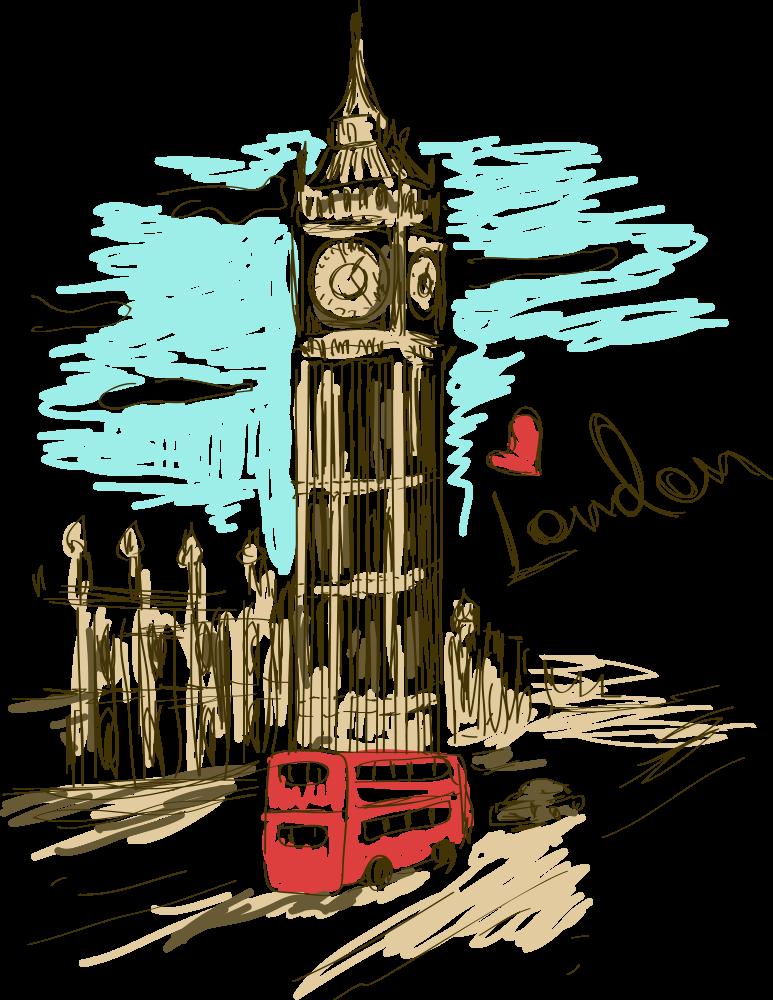 London Life London Painting London Wallpaper London Art