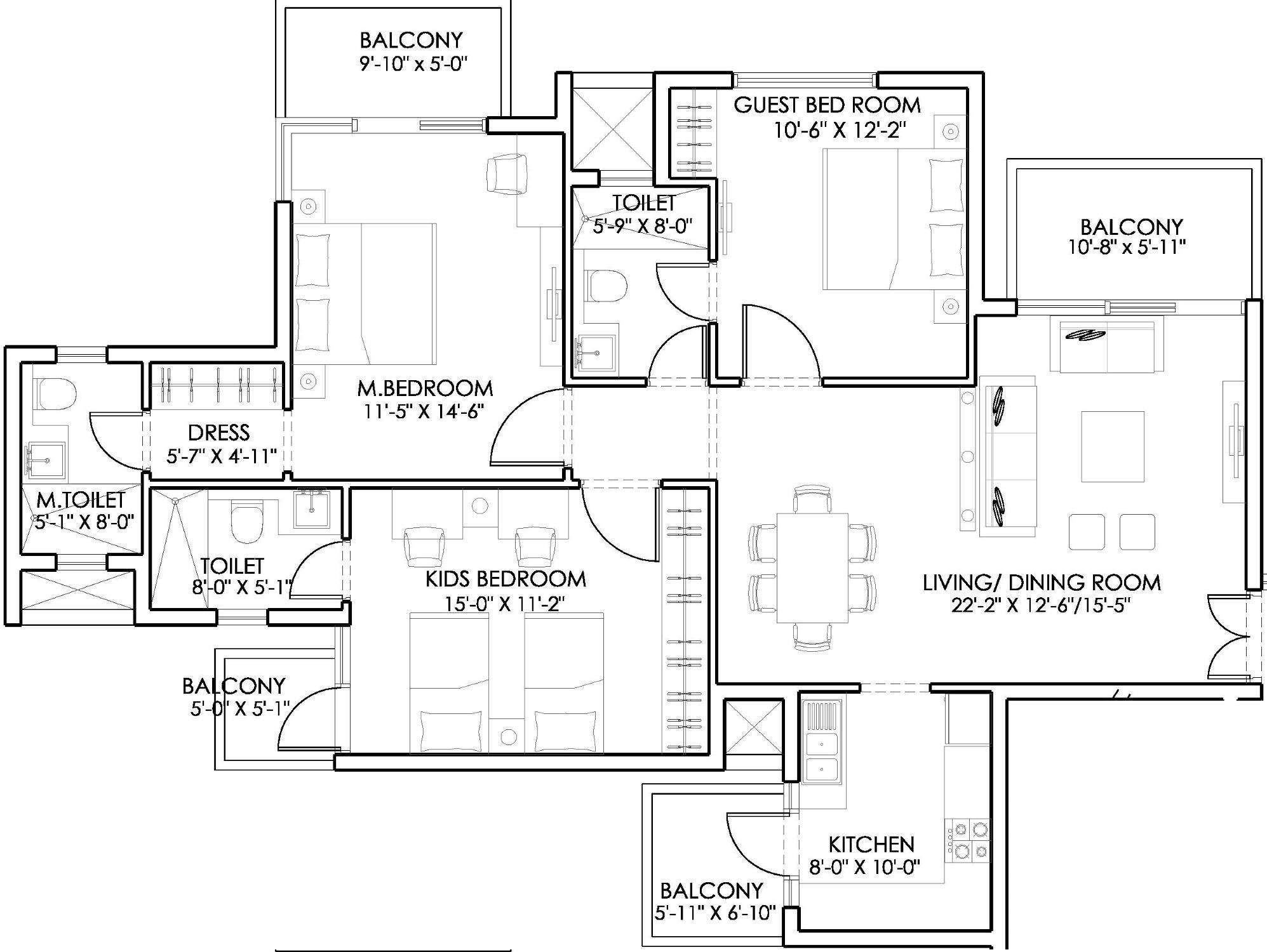 1700 square feet apartment plans google অন সন ধ ন