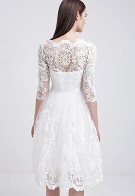Chi Chi London Cocktailkleid / festliches Kleid - white ...