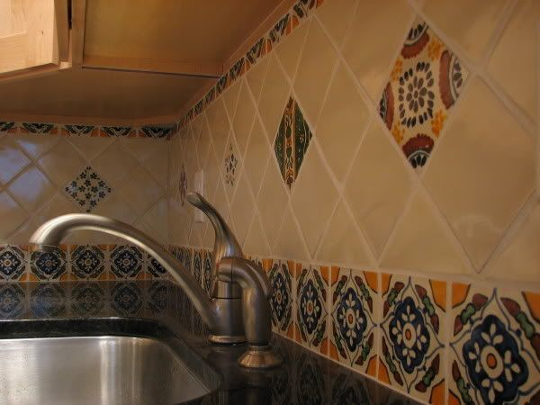 Spanish Style Kitchen Features 3 Light Windows Terracotta Floor