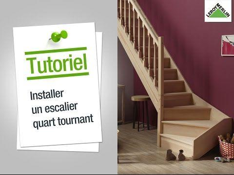 Comment Poser Un Escalier Quart Tournant Leroy Merlin Escalier Quart Tournant Calcul Escalier Escalier 1 4 Tournant