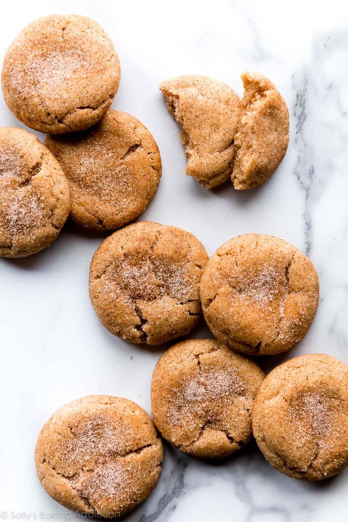Soft Thick Snickerdoodles Recipe Desserts Pinterest
