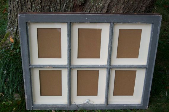 5 X 7 Six Pane Antique Window Picture Frame By Cairnworks On Etsy