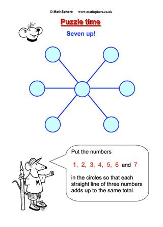 Seven Up | Maths | Pinterest | Math, Free math and Middle school maths