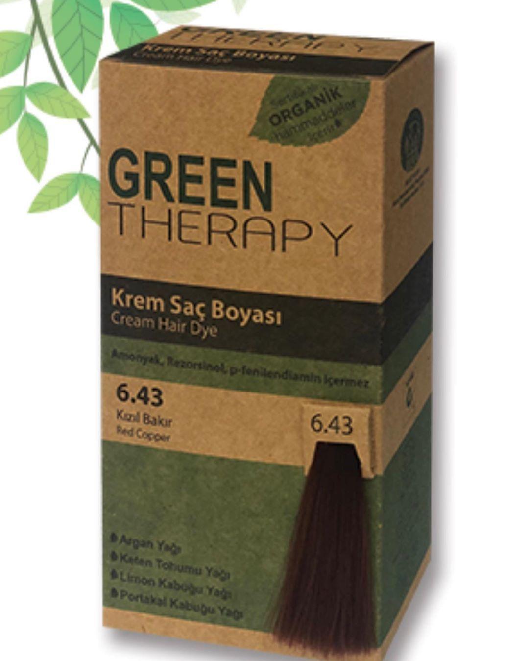 صبغة Green Therapy صبغة بمكونات طبيعية خالية من الأمونيا التي تسبب تهيج في فروة الرأس والحروق يحتوي عل Black Natural Hair Care Black Hair Care Hair Color
