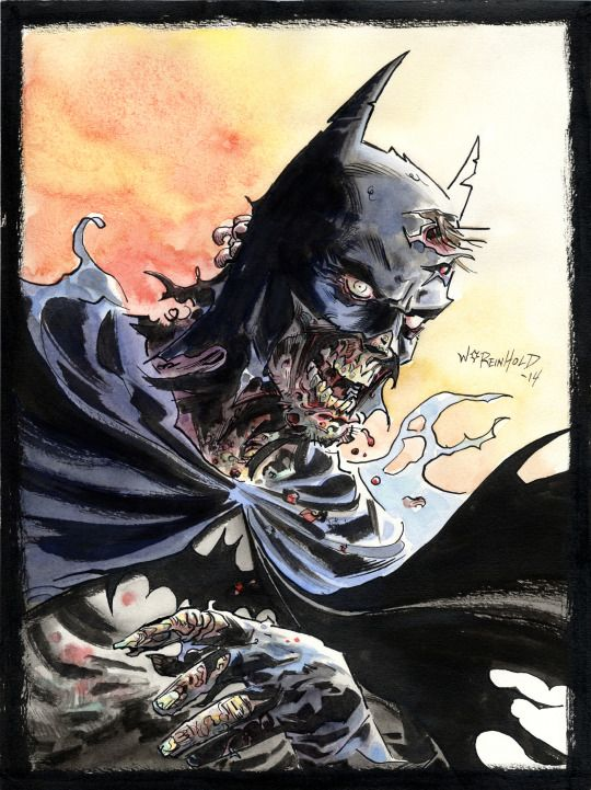 Batman Zombie By BillReinhold