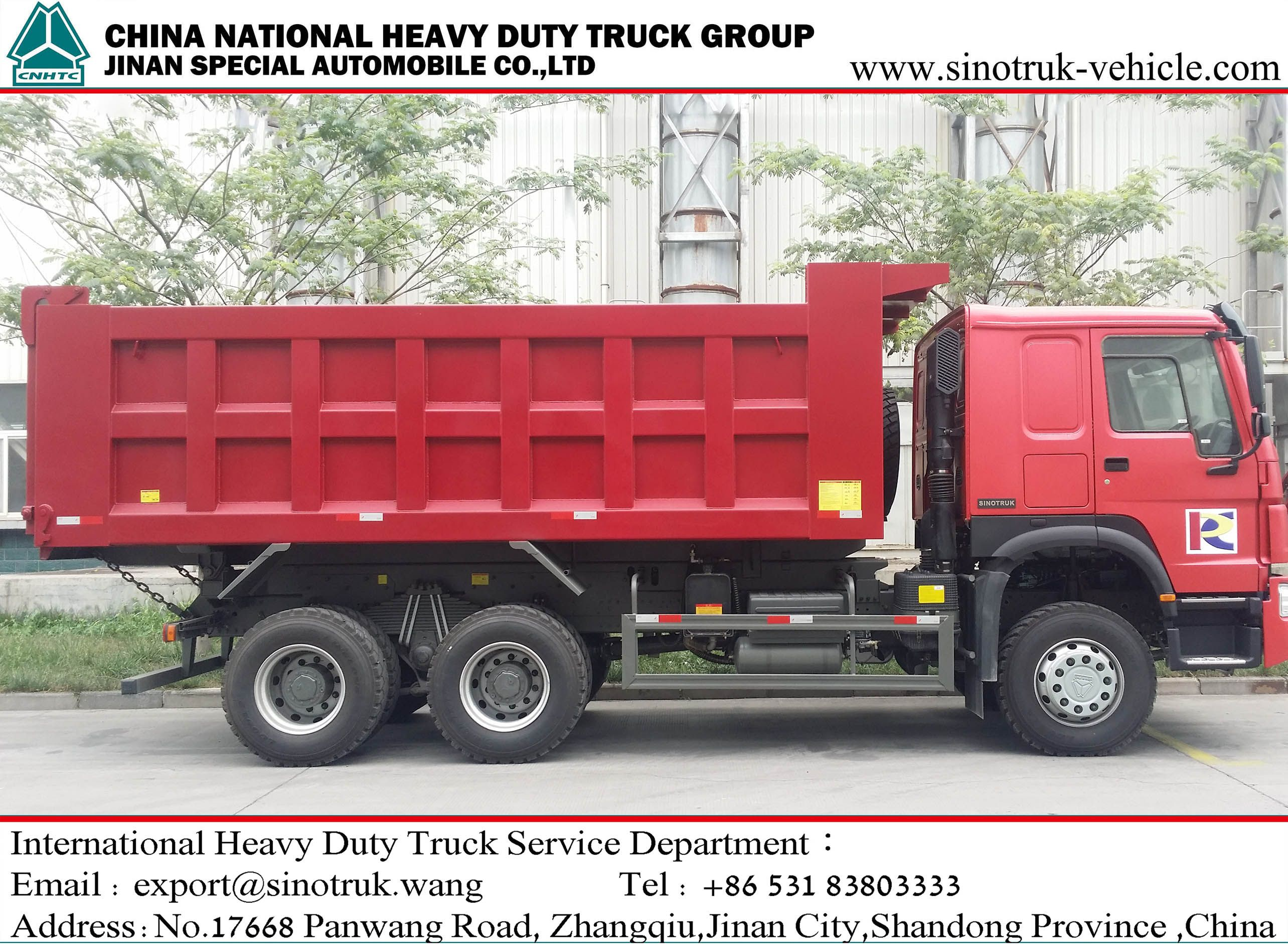 Howo 10 Wheels Tipper
