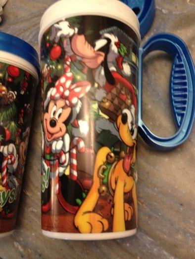 Christmas Disney World Refillable Mugs Disney Plates Disney Food Mugs