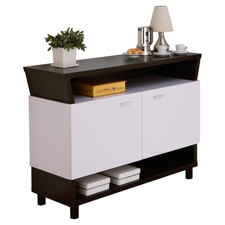 Coffee Pods And Plates Stowed In This Sleek Sideboard To Create A Breakfast Station Kitchen Corner Or Stock It With Bottles Gl