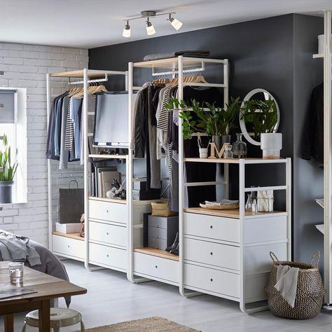 Ikea elvarli voor in Slaapkamer inloopkast zonder tv natuurlijk ...
