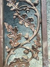 Oak Leaf And Acorn Antique Wrought Iron Railing And Accent Pieces