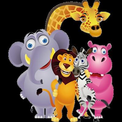 Cartoon Animals Cartoon clip art, Cartoon animals
