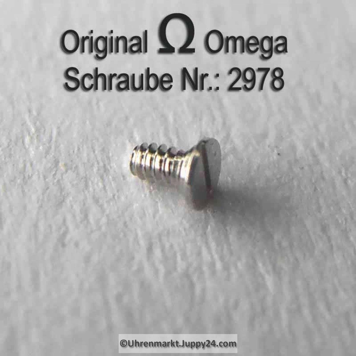 Omega Schraube 2978 Part Nr. Omega 2978 - Omega Ersatzteile -