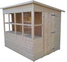 Image result for potting shed designs Stuga Pinterest Green