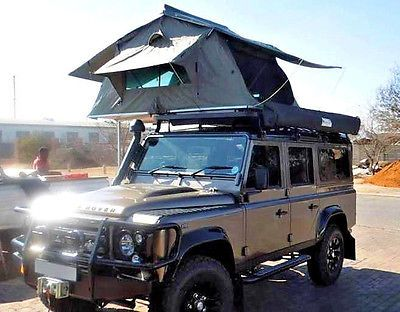 Ventura Deluxe 1 4 Car Roof Tent Camping Overland Expedition Land Rover Rrp 1600 Ebay Roof Tent Car Top Tent Tent