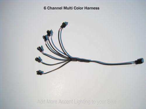 Wheel Pod Strip 16 Channel LED Multi-Color Accent Light Harness RGB Pod