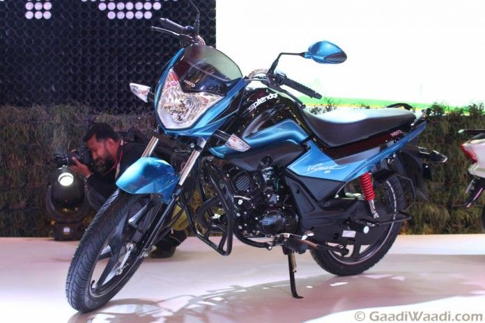 2016 Delhi Auto Expo Hero Motocorp Reveals Splendor 110 Ismart