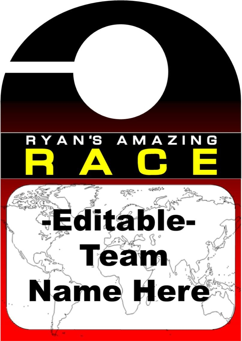 Amazing Race Party Supplies And Printables Including Invitations Pit Stop Clue Cards Water Bottle Wrappers Team B Amazing Race Party Race Party Amazing Race