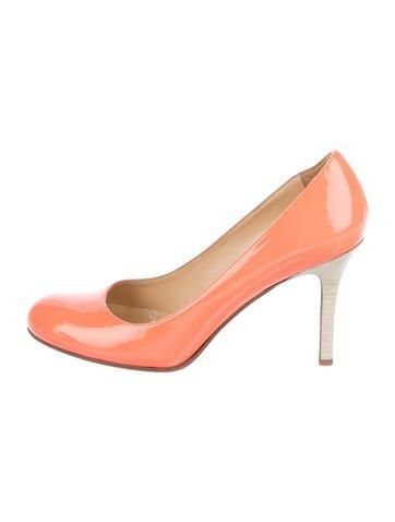 Kate Spade New York Patent Leather Round-Toe Pumps w/ Tags buy cheap free shipping 89NRuyihs