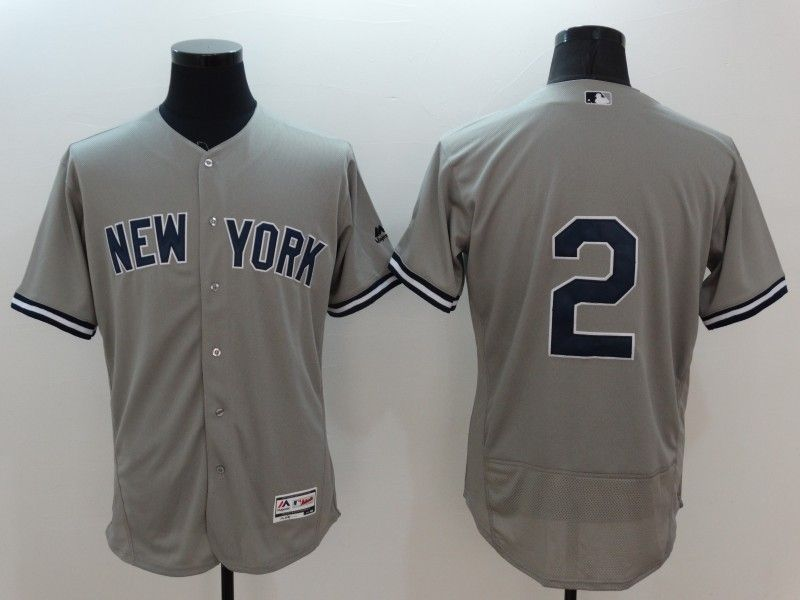 2016 new Mens 2 Derek Jeter yorks Jersey Color Gray Navy White Throwback  Jerseys-in Baseball Jerseys from Sports   Entertainment on Aliexpress.com  fc1a93f4b1d