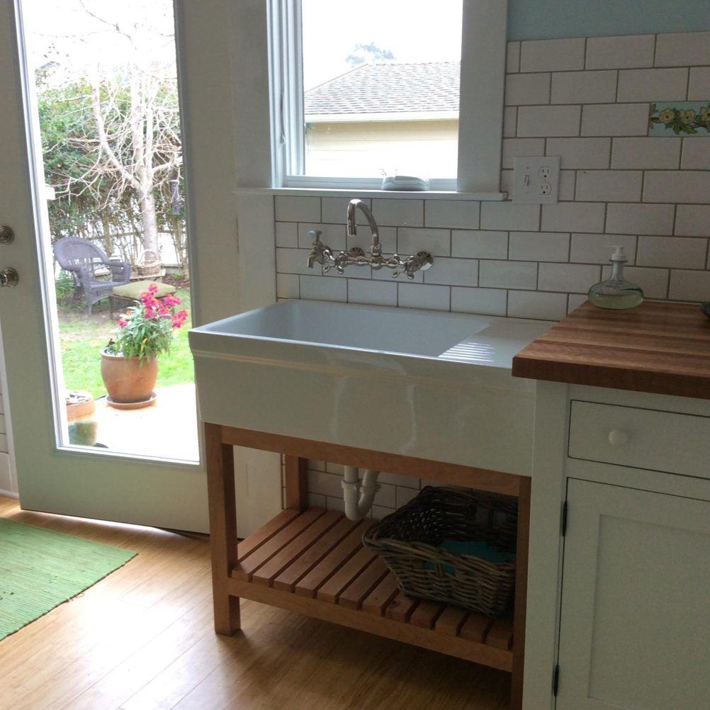 kitchen free standing sink unit