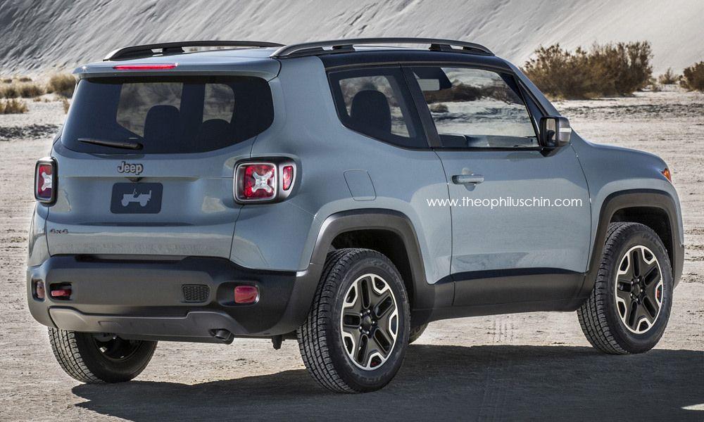 Jeep Renegade 3 portes | JeepLand | Jeep, Jeep liberty et ...