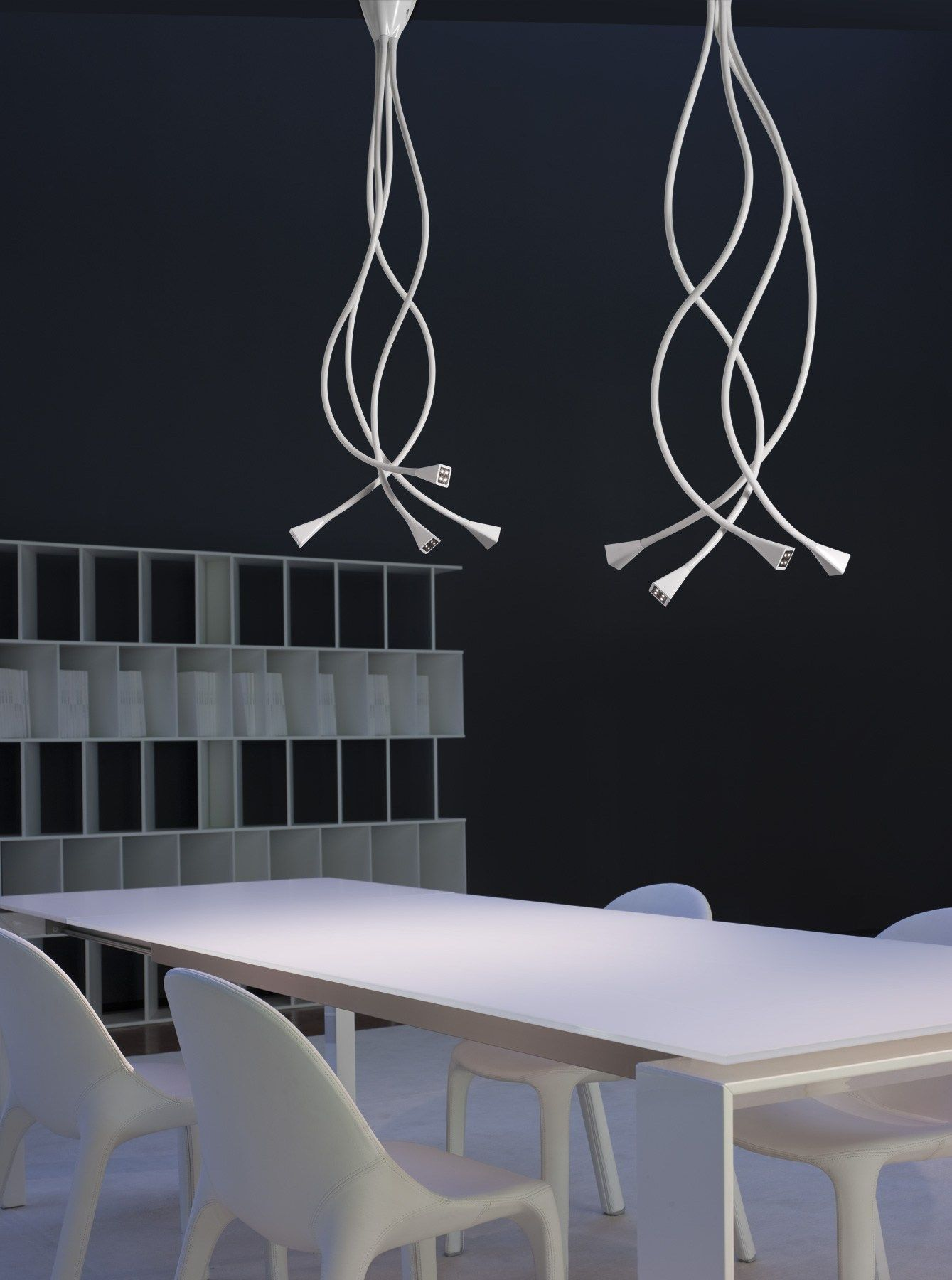 Lampada da soffitto a LED modulare VOLUPTAS Linea Mind-Led by AXO LIGHT | design Lorenzo Truant  Axo Light  #ceiling goo.gl/amkPsn
