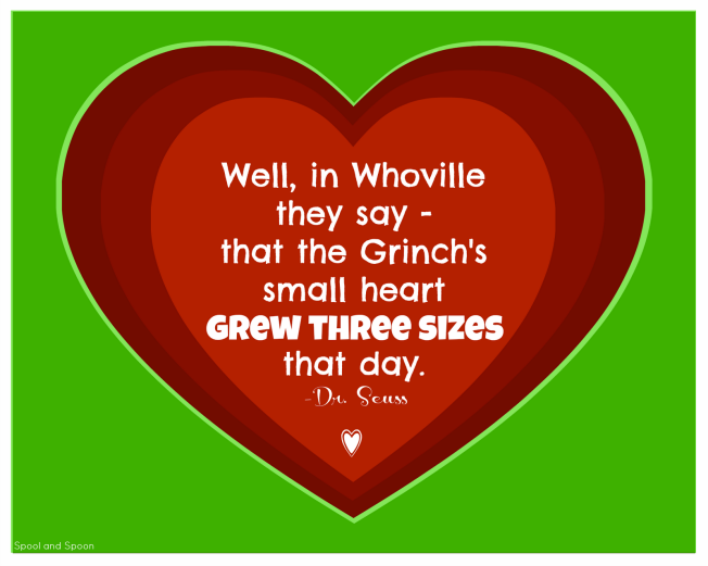 The Grinch S Heart Chakra Grinch Quotes Grinch Heart Grinch Printable