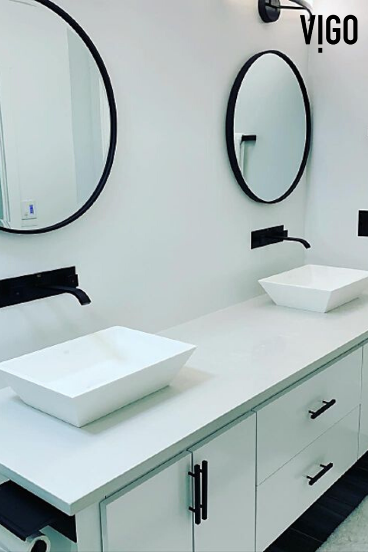 Among The Various Sinks You Can Choose For Your Bathroom A Vessel Sink Is Surely The Most Stylish And Innovative One With It Powder Room Trendy Bathroom Home