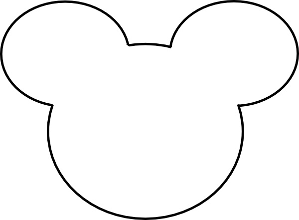 Free Mickey Mouse Head Silhouette Download Free Clip Art Free Clip Art On Clipart Library Mickey Mouse Template Mickey Mouse Head Mickey Mouse Outline