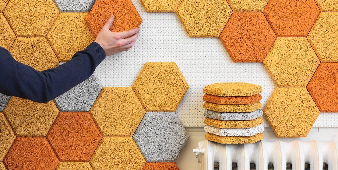 form baux acoustic tiles