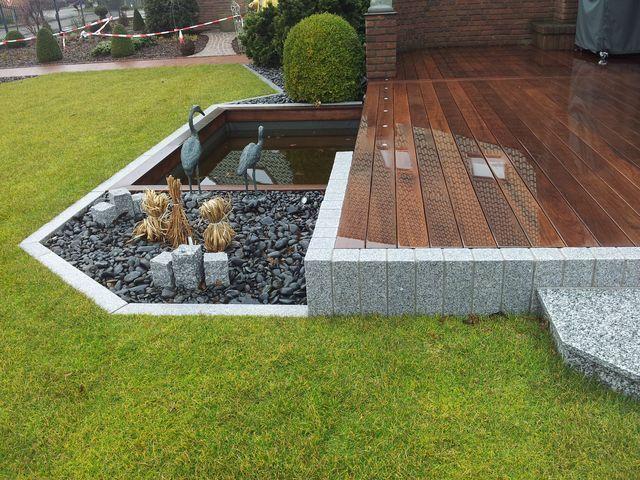 holzterrassen mit granit terrassen u wege pinterest. Black Bedroom Furniture Sets. Home Design Ideas