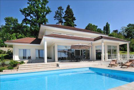 Plan Maison Contemporaine Avec Piscine Plan Architecte Interieur